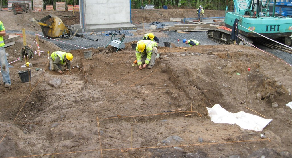 Barnhill excavation