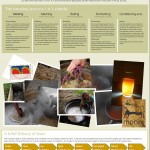 INISHFOOD AND FEILE GRIANAN, BEER INFOGRAPHIC