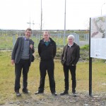 Unveiling of archaeological sign at Terryland